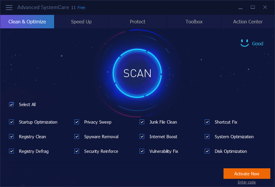 Advanced SystemCare 11 License Key + Patch With Registration Code Full Version